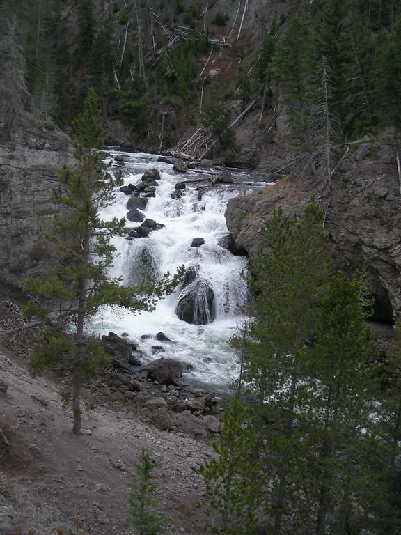 Yellowstone must see (фотки с привязкой к карте)